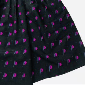 Marimekko Skirts - Anthropologie Marimekko Unique Print Black Skirt